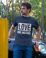 LOVE ONE ANOTHER  Classic T-Shirt apparel-classic-tshirt-lifestyle-front-44