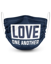 LOVE ONE ANOTHER  2 Layer Face Mask - Single thumbnail
