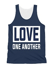 LOVE ONE ANOTHER  All-over Unisex Tank thumbnail