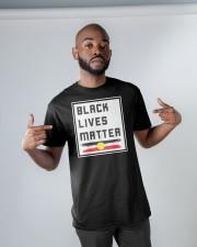 Black lives matter AU Classic T-Shirt apparel-classic-tshirt-lifestyle-front-32