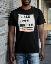Black lives matter AU Classic T-Shirt apparel-classic-tshirt-lifestyle-front-40
