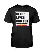 Black lives matter AU Classic T-Shirt front