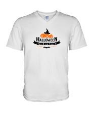 Halloween V-Neck T-Shirt thumbnail