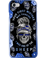 Your first mistake Metal Pattern Print  Phone Case i-phone-8-case