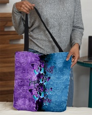 Faith hope love All-over Tote aos-all-over-tote-lifestyle-front-10