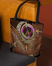 Stay Wild Moon Child Leather Pattern Print All-over Tote aos-all-over-tote-lifestyle-front-02