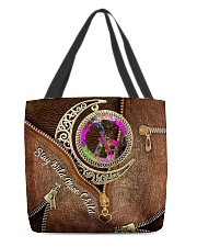 Stay Wild Moon Child Leather Pattern Print All-over Tote back
