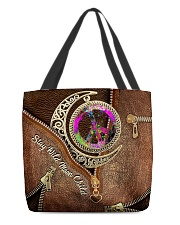 Stay Wild Moon Child Leather Pattern Print All-over Tote front