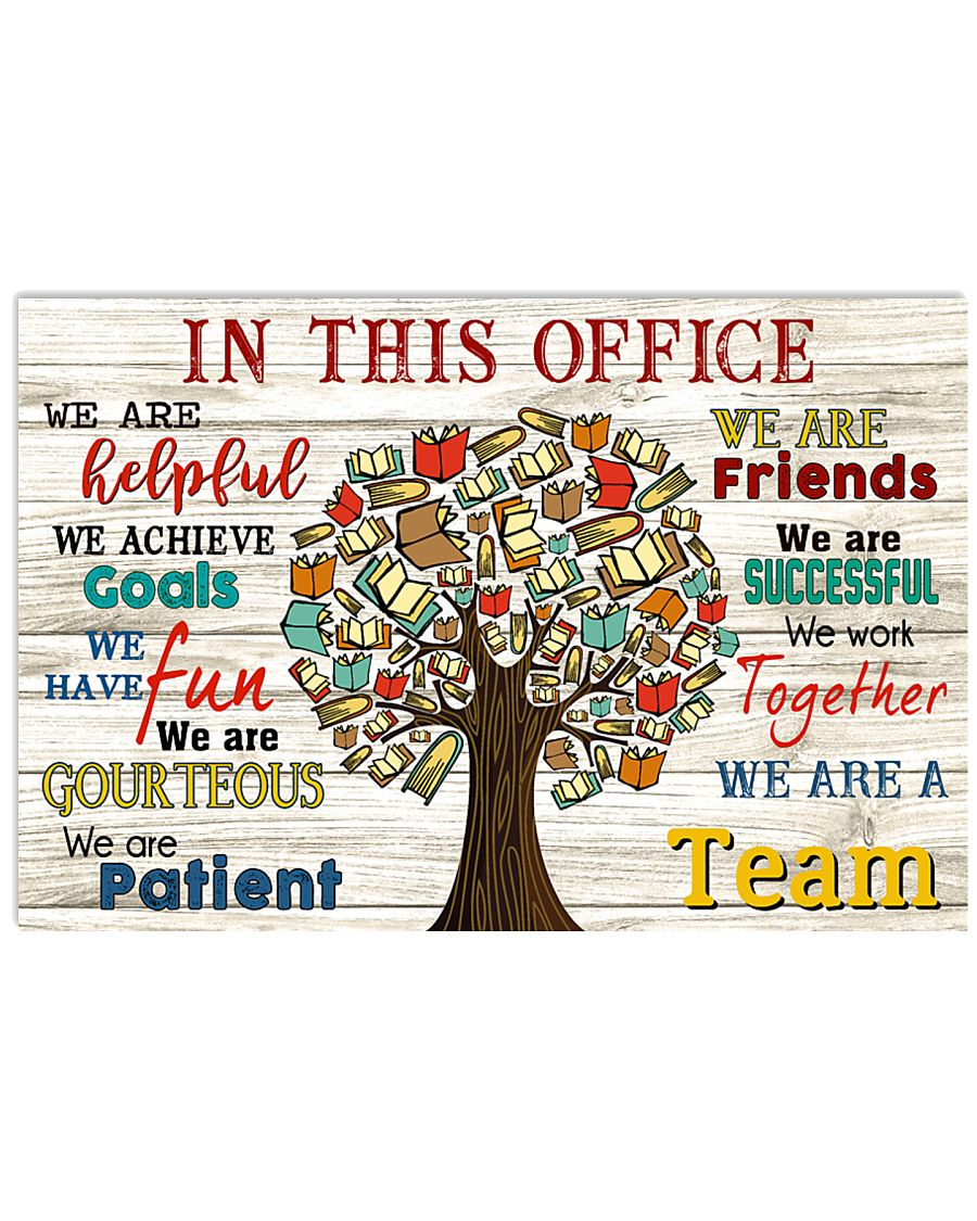 In this office 17x11 Poster