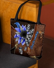 Stand for something Leather Pattern Print  All-over Tote aos-all-over-tote-lifestyle-front-02