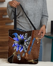 Stand for something Leather Pattern Print  All-over Tote aos-all-over-tote-lifestyle-front-10
