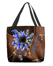 Stand for something Leather Pattern Print  All-over Tote front