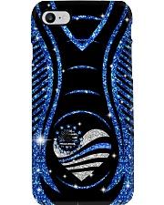 Blue sunflower Phone Case i-phone-8-case