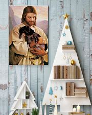 Dachshund  11x17 Poster lifestyle-holiday-poster-2