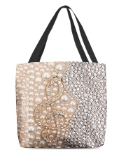 Love Music Pattern Print All-over Tote front