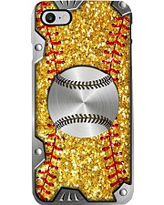 Softball Sequin pattern print Phone Case i-phone-7-case