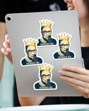 Notorious RBG Sticker - 4 pack (Vertical) aos-sticker-4-pack-vertical-lifestyle-front-11