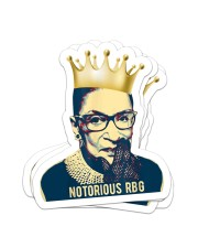 Notorious RBG Sticker - 4 pack (Vertical) front