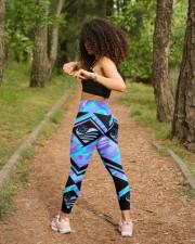 Back The Blue High Waist Leggings aos-high-waist-leggings-lifestyle-17