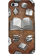 Book lovers Metal pattern print  Phone Case i-phone-8-case