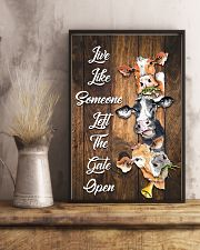 Live like someone left the gate open 11x17 Poster lifestyle-poster-3