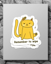 Remember to wipe Sticker - 4 pack (Vertical) aos-sticker-4-pack-vertical-lifestyle-front-09