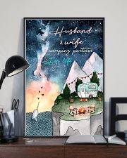 Husband and wife camping partner for life 11x17 Poster lifestyle-poster-2