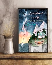 Husband and wife camping partner for life 11x17 Poster lifestyle-poster-3