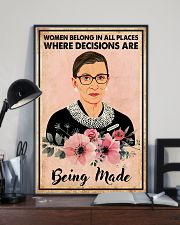 WomEn belong in all places 11x17 Poster lifestyle-poster-2
