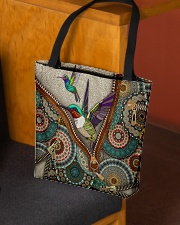 Hummingbird mandala All-over Tote aos-all-over-tote-lifestyle-front-02