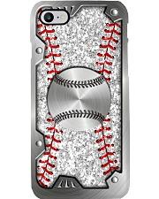 Baseball Sequin pattern print Phone Case i-phone-8-case
