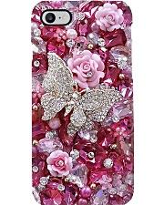 Pink Garden  Phone Case i-phone-8-case