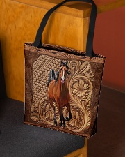 Love horses All-over Tote aos-all-over-tote-lifestyle-front-02