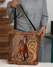 Love horses All-over Tote aos-all-over-tote-lifestyle-front-10
