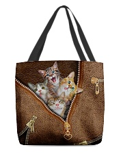 Happy cat All-over Tote back