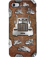 Trucker Metal pattern print  Phone Case i-phone-8-case