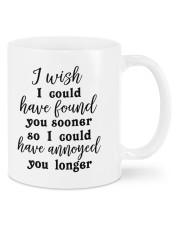 Annoyed you longer Mug front