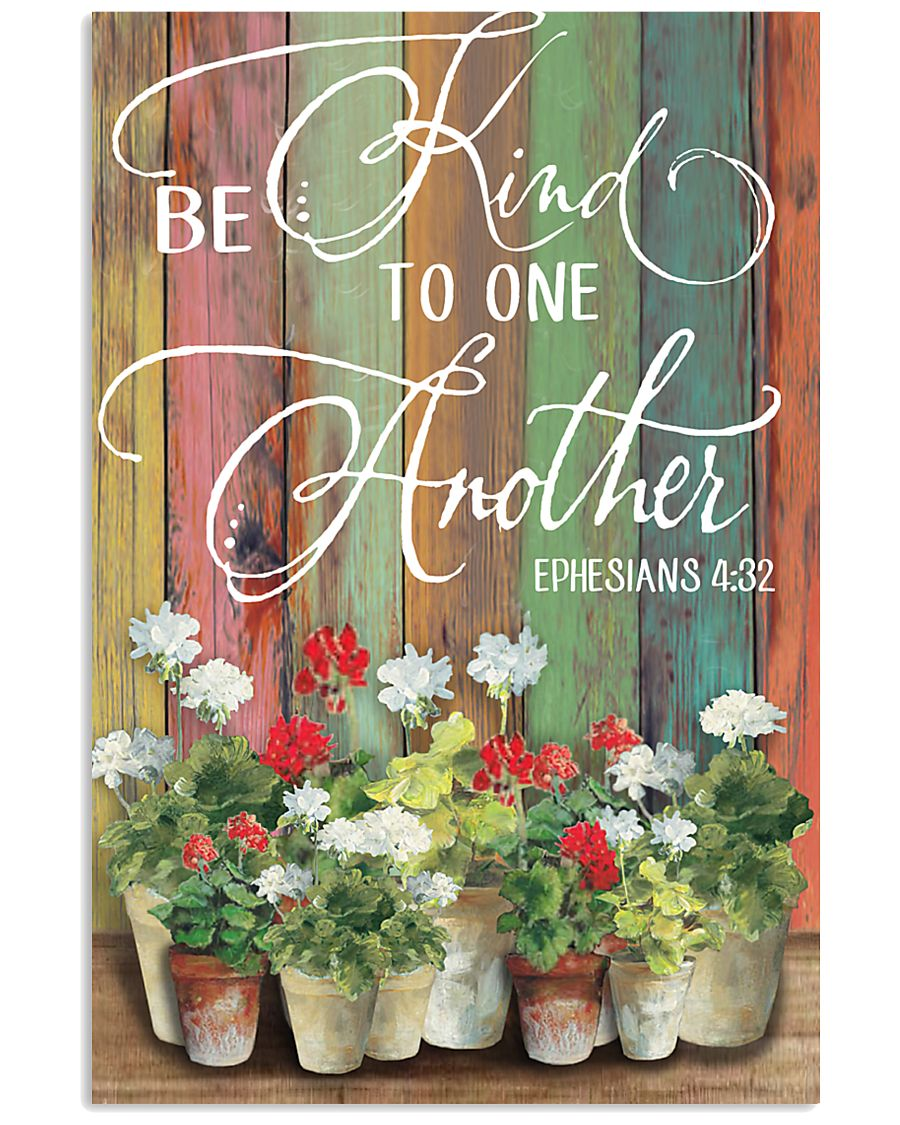 Be kind to one another 11x17 Poster