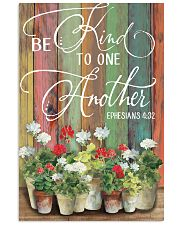 Be kind to one another 11x17 Poster front