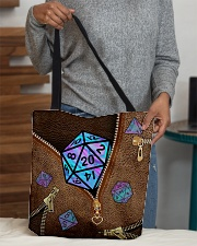 Magic d20 All-over Tote aos-all-over-tote-lifestyle-front-10