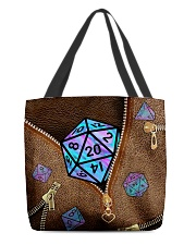 Magic d20 All-over Tote front