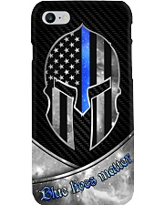 Blue lives matter Phone Case i-phone-8-case