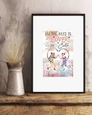 All you need is love 11x17 Poster lifestyle-poster-3