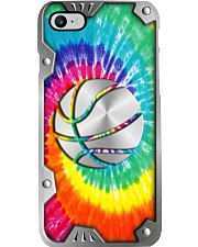 Basketball Metal Pattern Print Phone Case i-phone-8-case