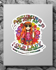 Assuming I'm just an old lady Sticker - 4 pack (Vertical) aos-sticker-4-pack-vertical-lifestyle-front-09