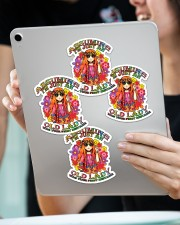 Assuming I'm just an old lady Sticker - 4 pack (Vertical) aos-sticker-4-pack-vertical-lifestyle-front-11