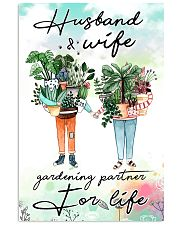 Husband and wife gardening partner for life 11x17 Poster front