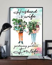 Husband and wife gardening partner for life 11x17 Poster lifestyle-poster-2