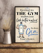 Go to the gym make you look better 11x17 Poster lifestyle-poster-3