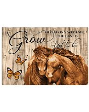 Grow old along with me 17x11 Poster front